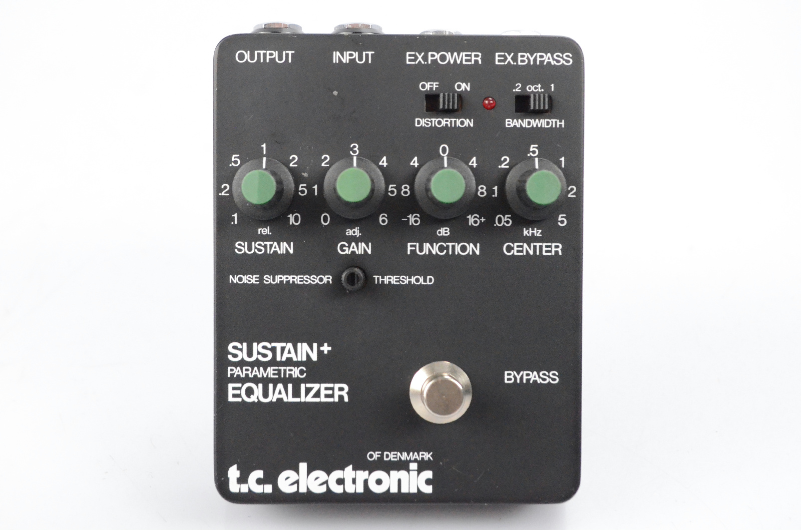 TC Electronic Sustain & Parametric Equalizer Guitar Pedal w/ Power Supply #31844