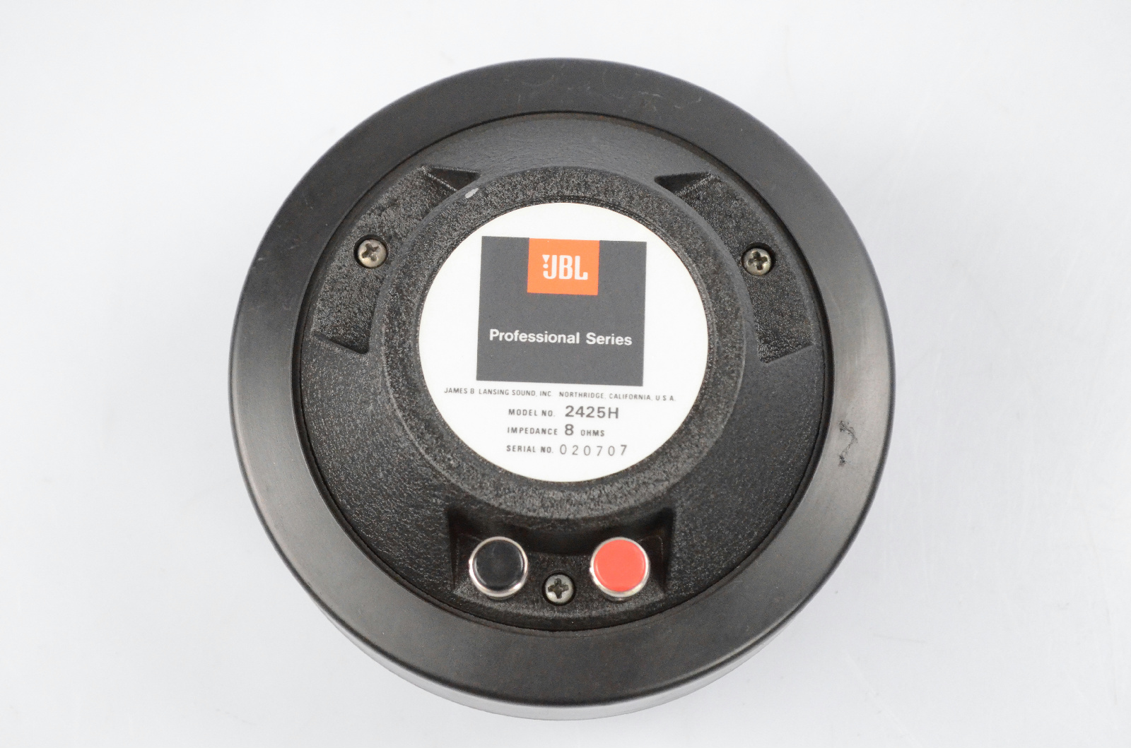 JBL 2425H High Frequency Compression Driver Tweeter 2425 H #31463