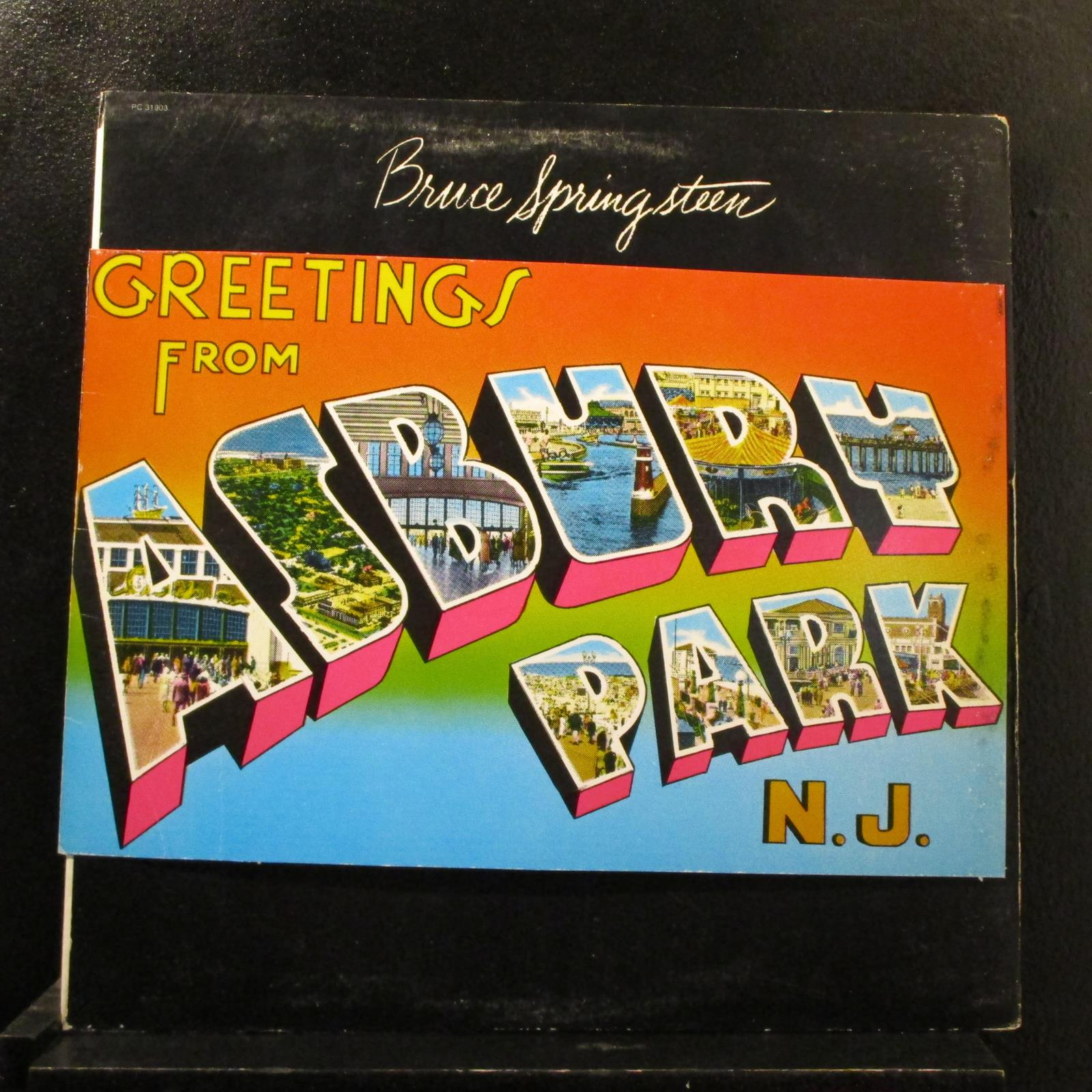 Bruce Springsteen Greetings From Asbury Park Nj Lp Mint Pc
