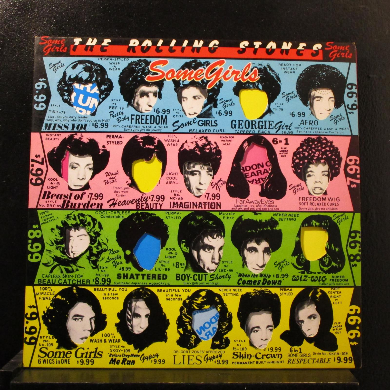 Details about The Rolling Stones - Some Girls LP VG+ COC 39108 USA 1978  Vinyl Record