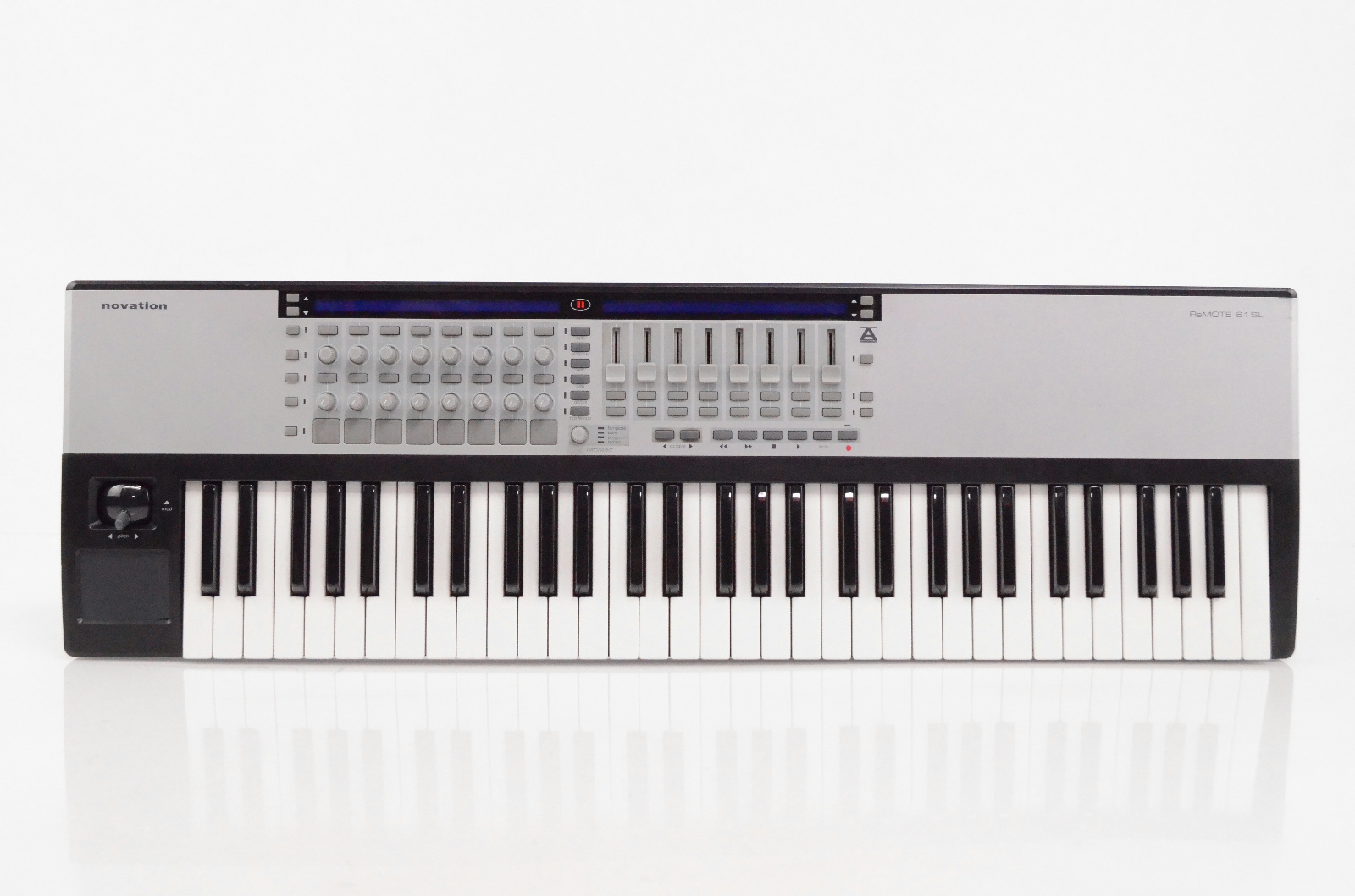 Novation ReMOTE 61 SL USB MIDI 61 Key Controller Piano Keyboard 61SL #31903