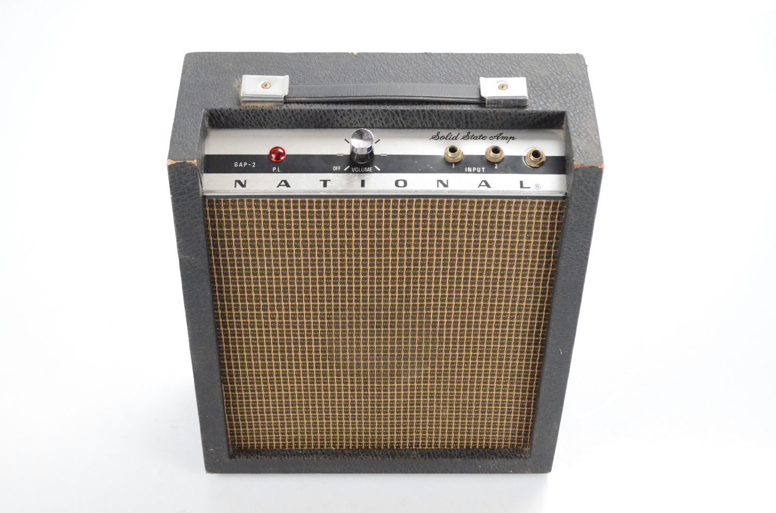 """National GAP-2 Solid State Portable 1x4"""" Guitar Combo Amp Amplifier GAP2 #32056"""