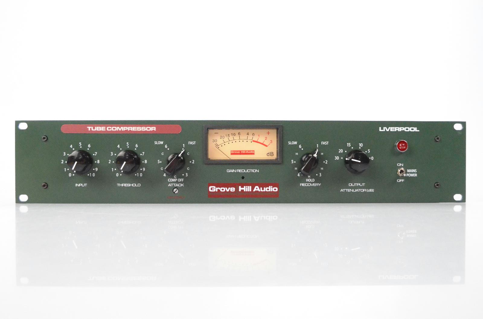 Grove Hill Audio Liverpool Tube Compressor w/ Manual Limiter Valve Mu #32089