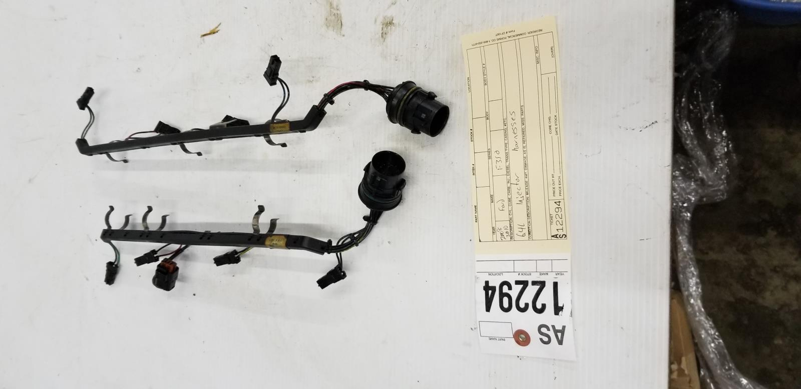 2008 2010 Ford F350 64l Powerstroke Injector Wiring Harnesses Tag Harness As12294