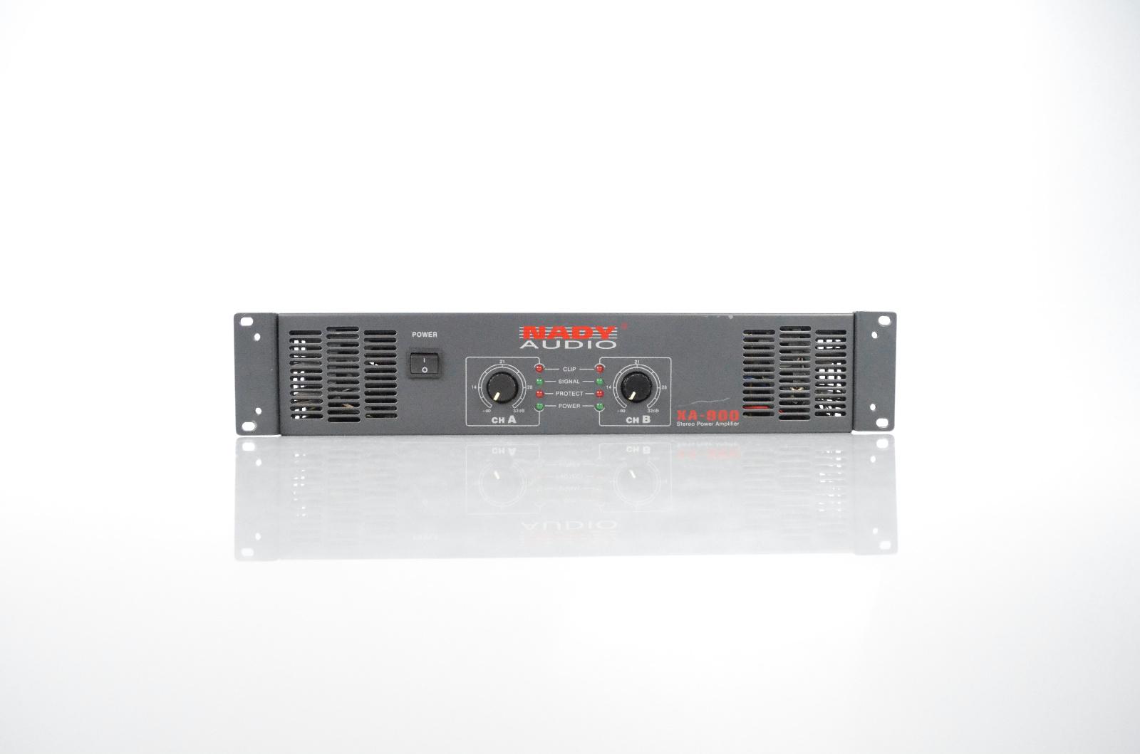 Nady Audio XA-900 Stereo Power Amp Amplifier #32180