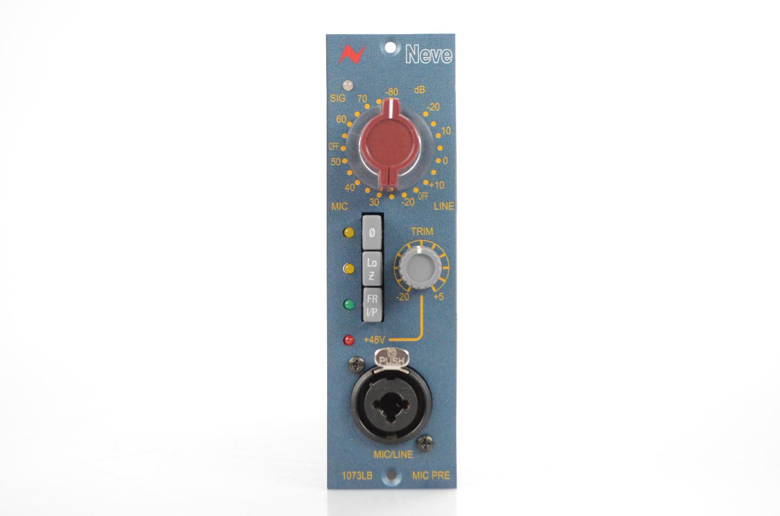 AMS Neve 1073LB 500 Series Line & Microphone Mic Preamp Pre 1073 LB #32297