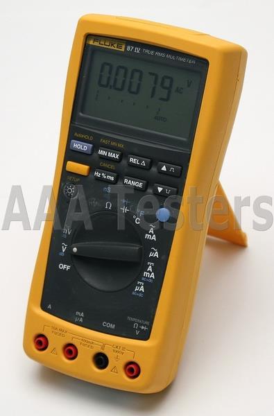 Details about Fluke 87 IV True RMS Industrial DMM Digital Multimeter 87IV  87-IV