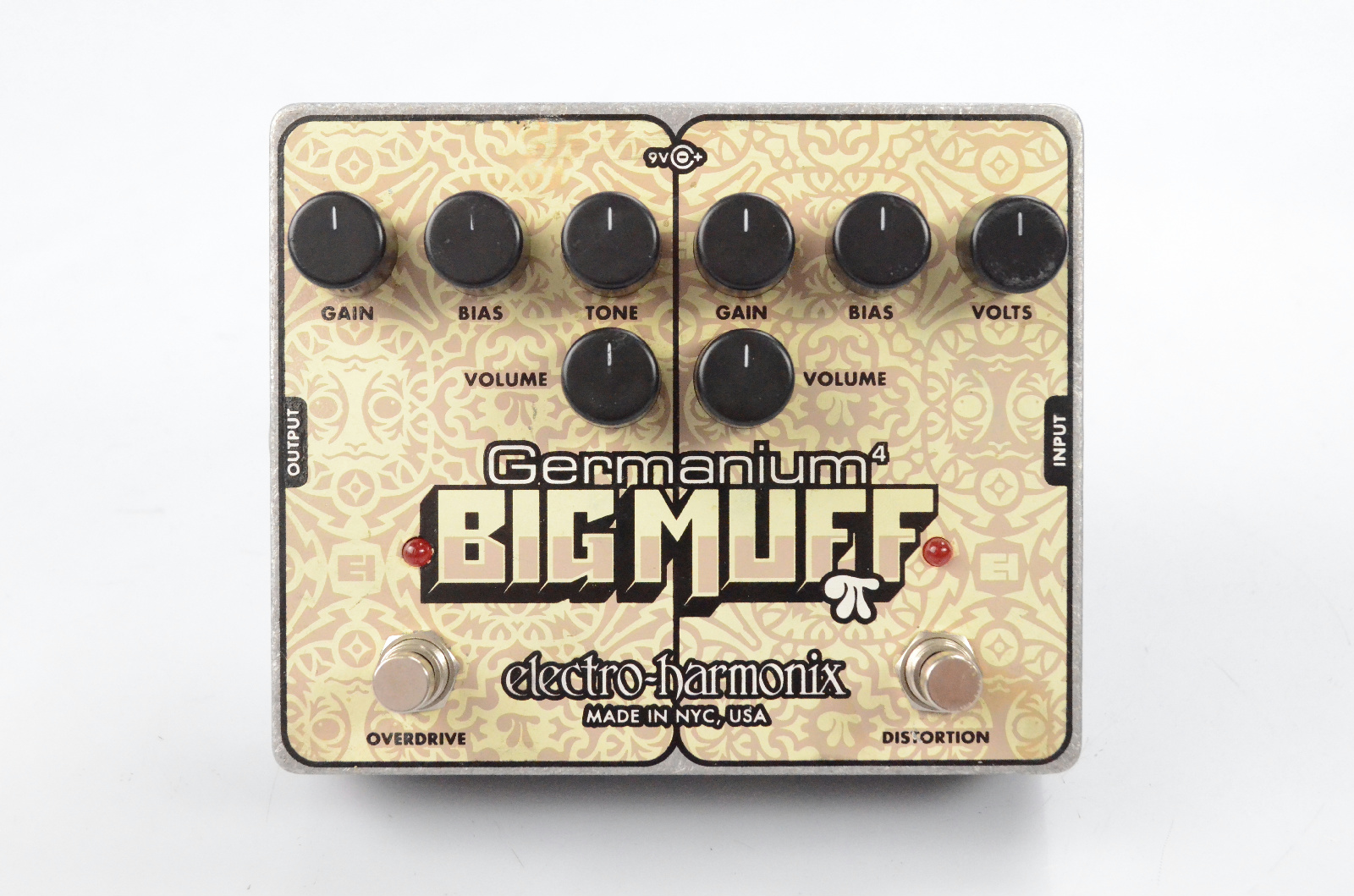Electro-Harmonix Germanium Big Muff Distortion Fuzz Guitar Pedal EHX #32327