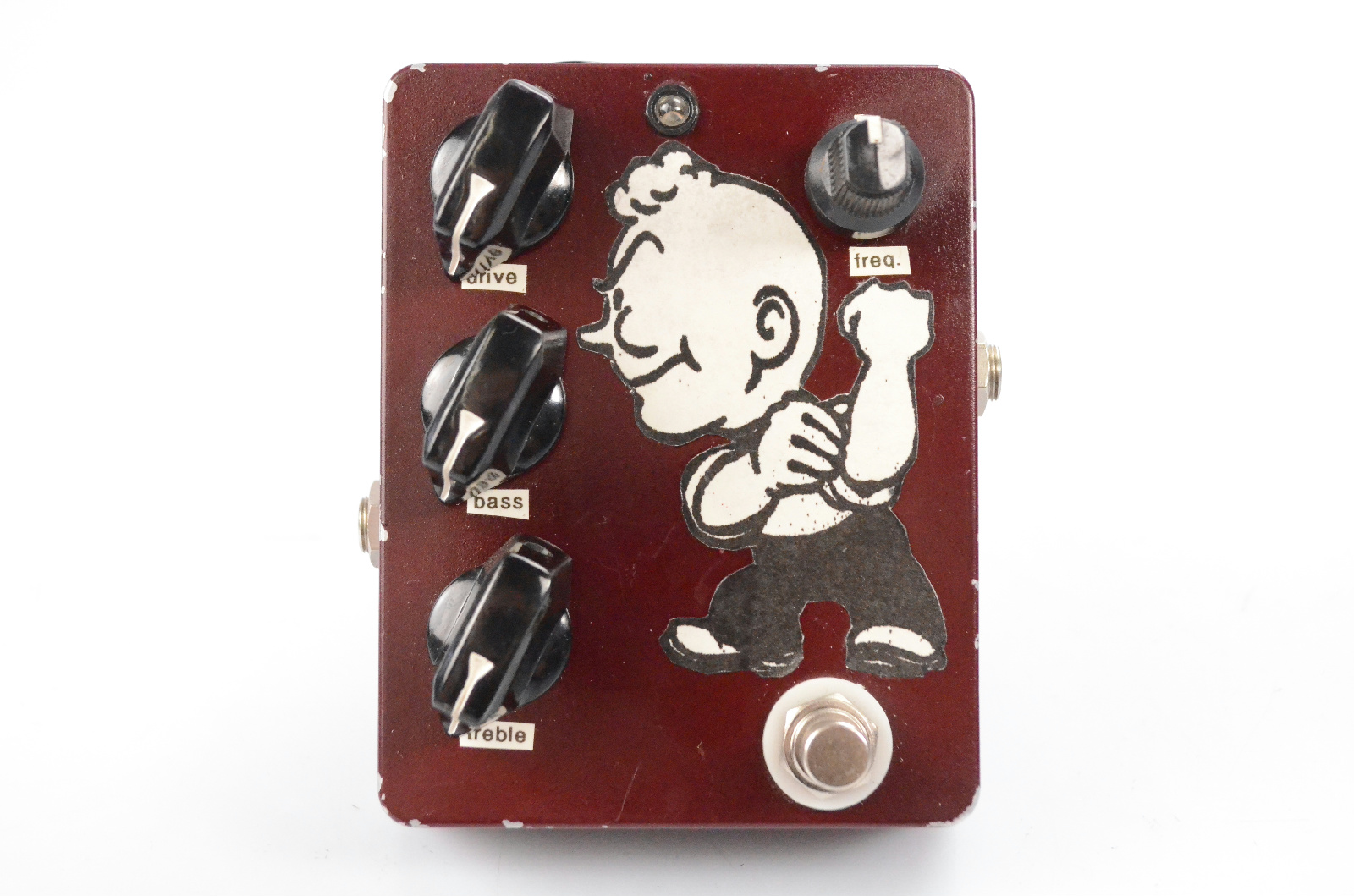 Dirty Boy Ball Buster Boost Effect Electric Guitar Pedal Booster #32328
