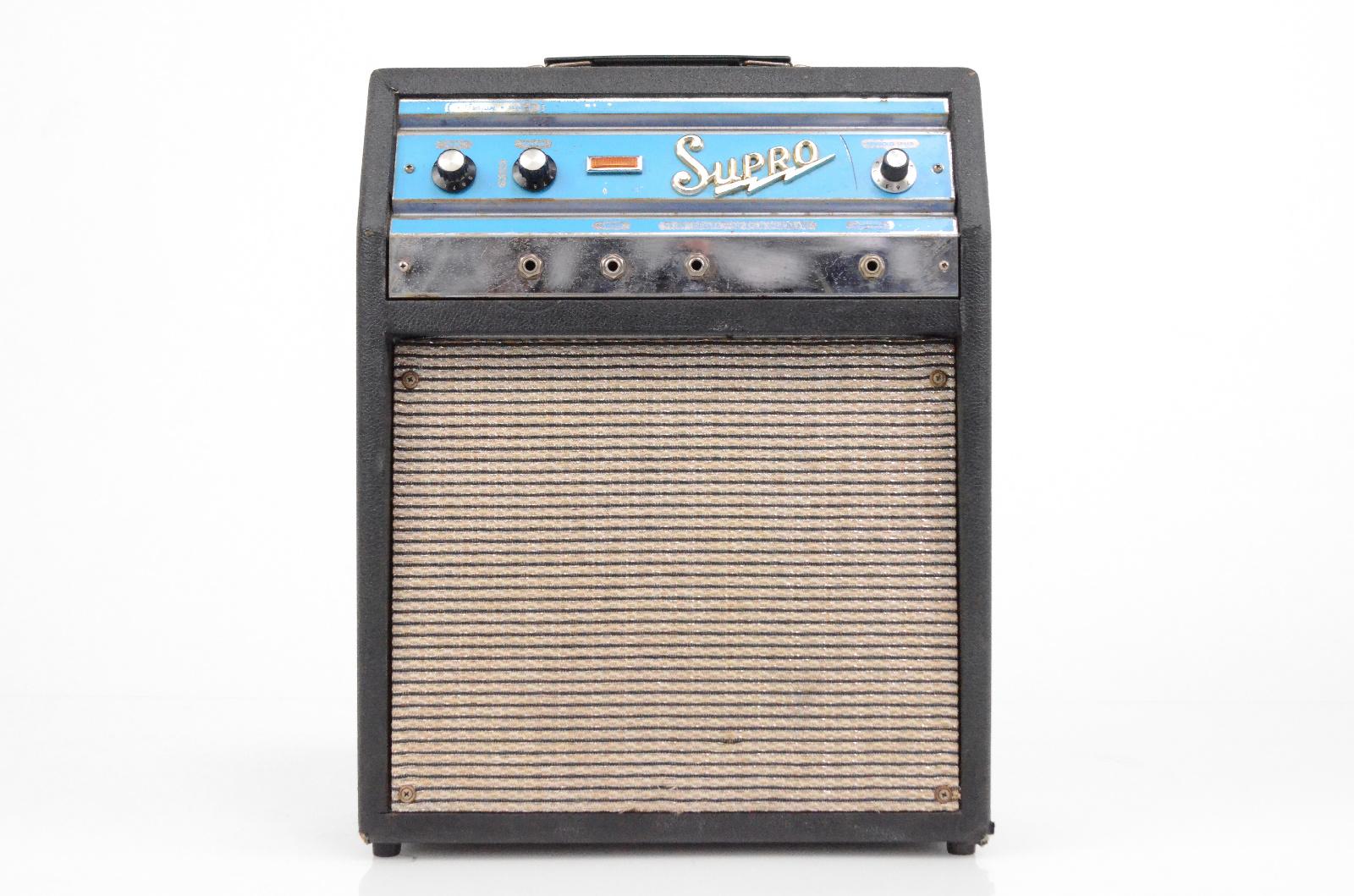 "Vintage Supro Valco S6616 Trojan 1x10"" Tube Combo Amplifier Amp #32403"