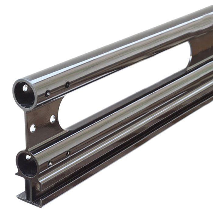 Black Chevy Hhr H2 Ladder Roof Van Rack 50 Quot Bar 78 75