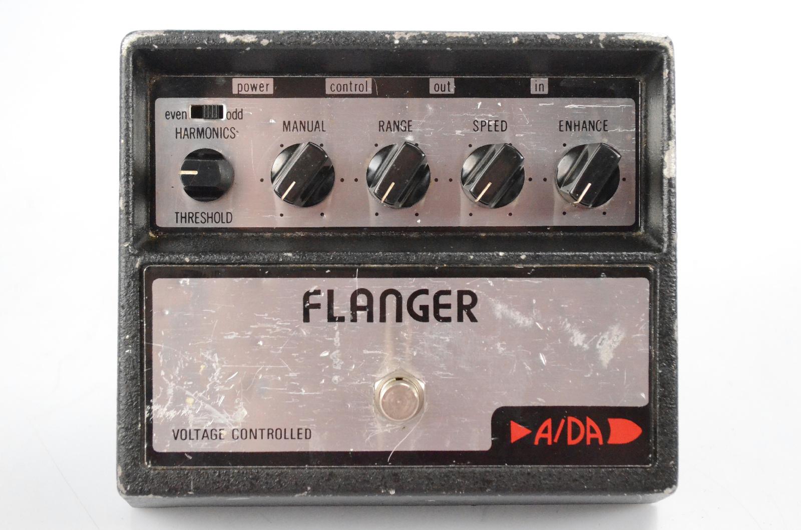 Vintage Original A/DA Voltage Controlled Flanger Effect Pedal #32418