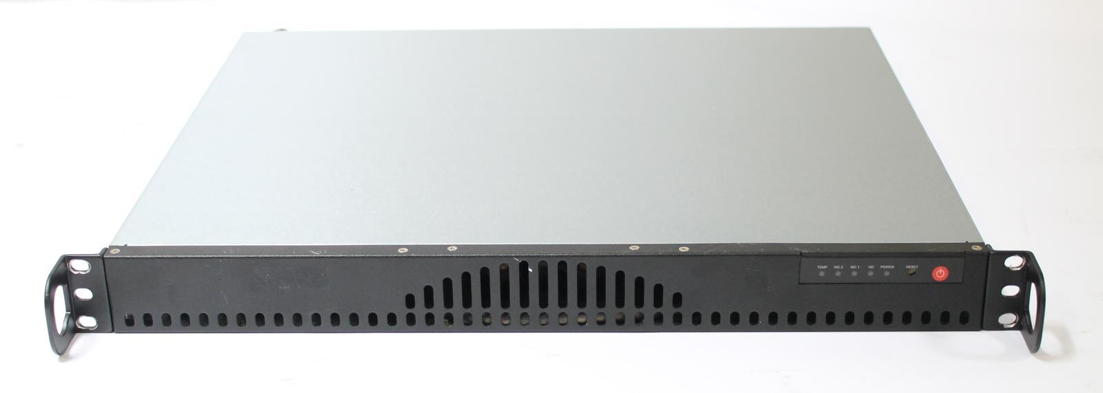 Supermicro 1U Server Intel E5300 2GB RAM 2x 160GB HDD with 410W DC Power  Supply