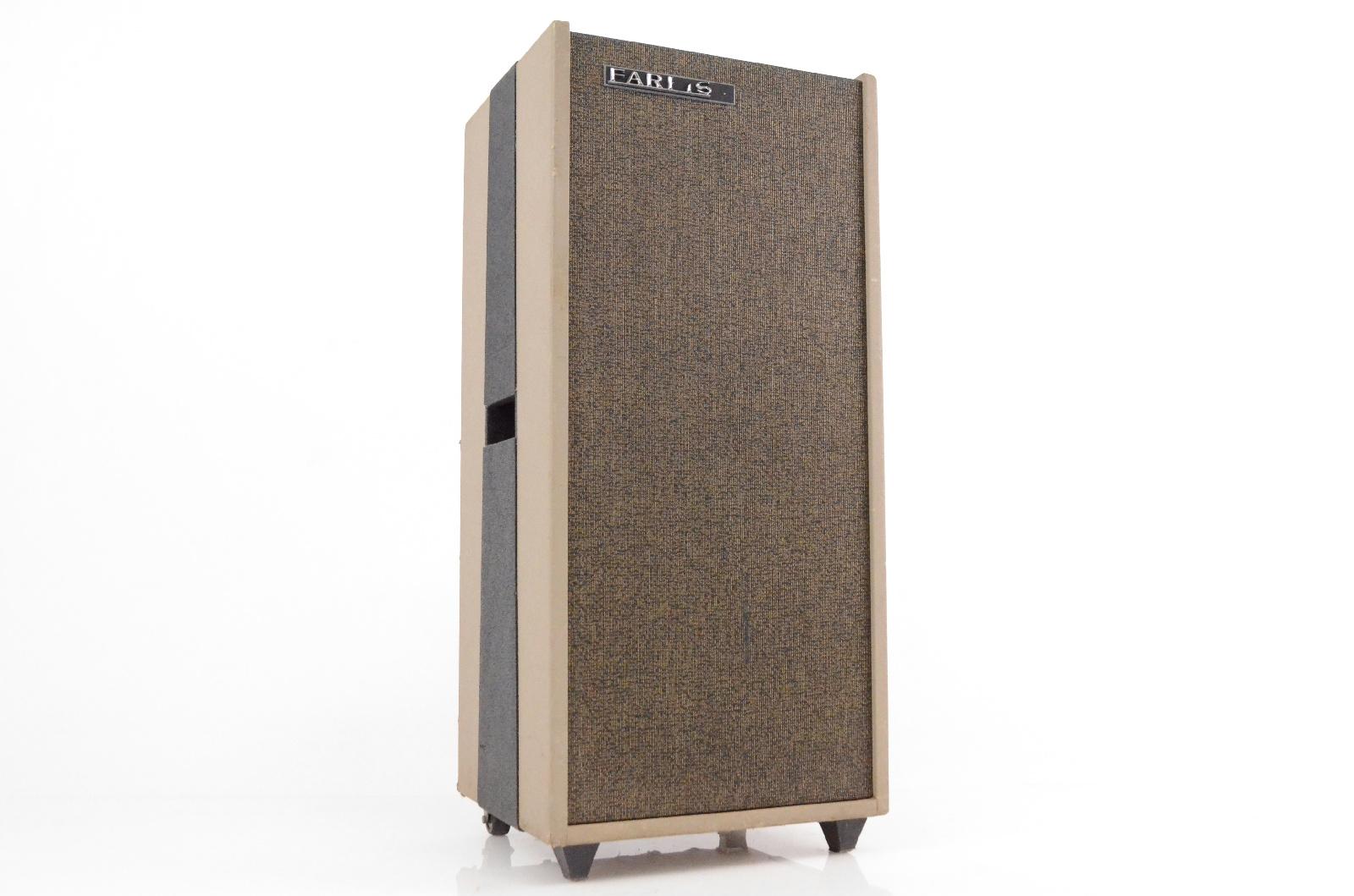 """1960s Farfisa BT 40 Organ Amplifier 40 Watt 15"""" Combo Amp BT40 BT/40(c) #32419"""