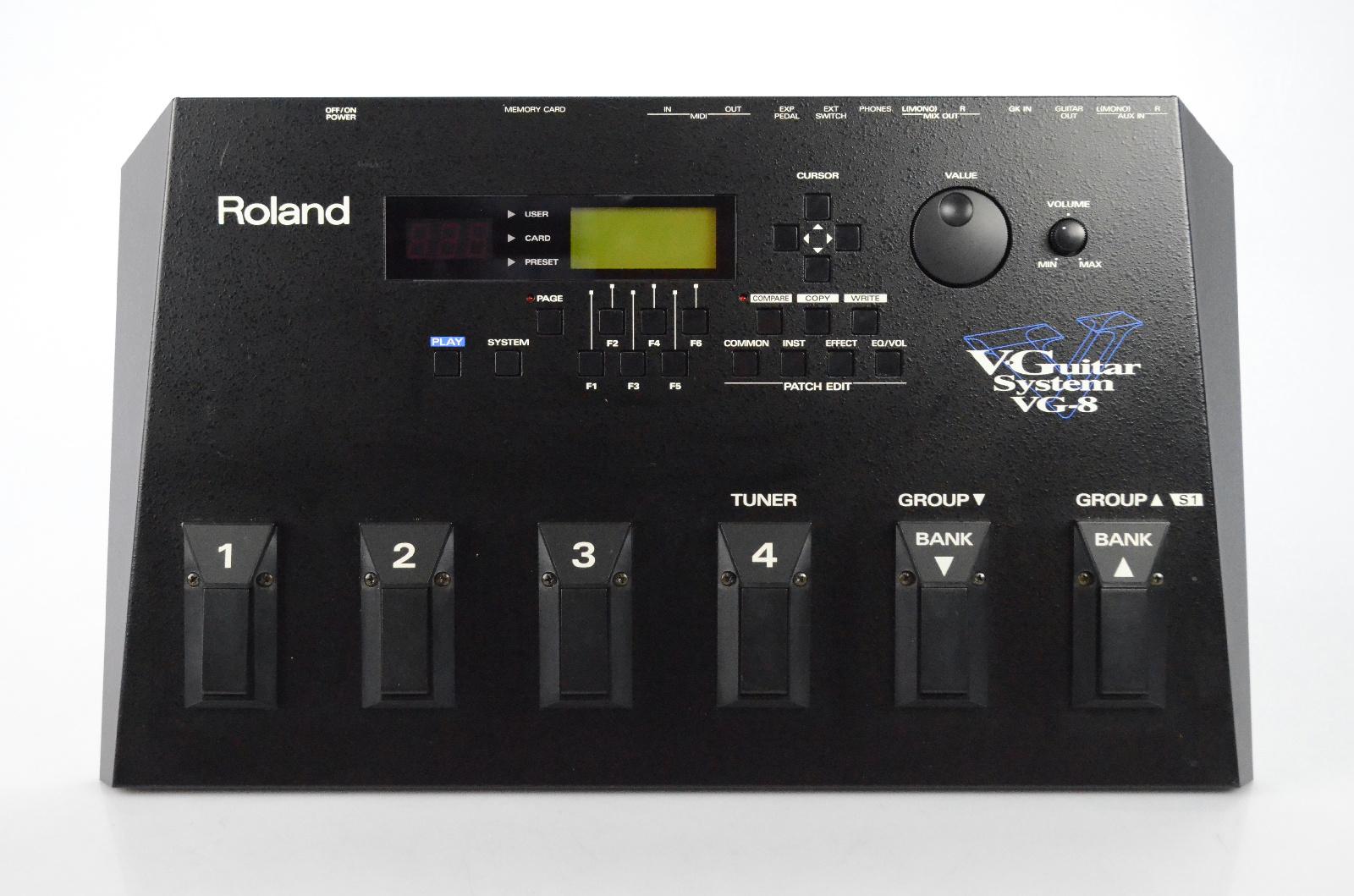 Roland VG-8 V-Guitar Processor System w/ Original Box Manuals & Cable VG8 #32426