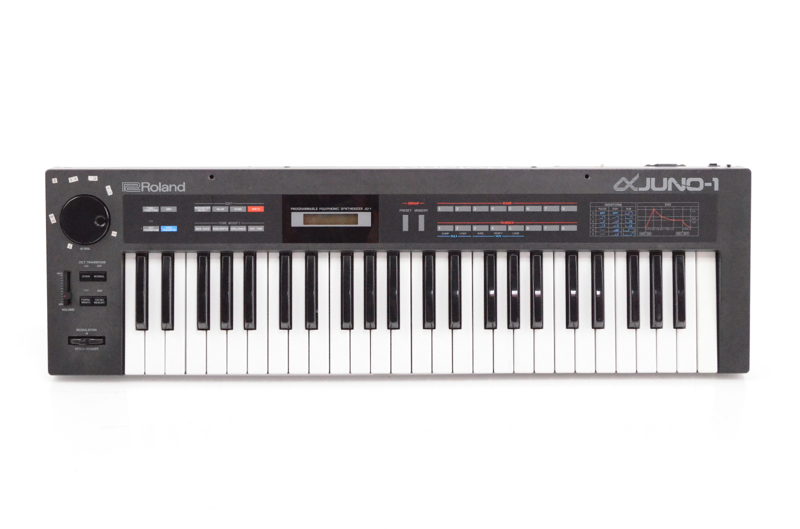 Roland Alpha Juno-1 Analog Polyphonic Synthesizer Synth Keyboard JU-1 JU1 #32430