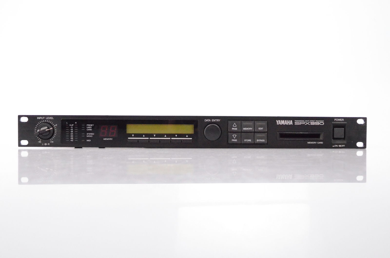 Yamaha SPX990 Professional Multi-Effect Processor SPX 990 #32433