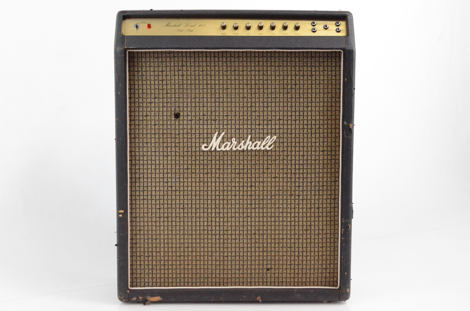 Marshall Lead 100 Solid State 4x12 Guitar Combo Amp Amplifier G12843 #32523