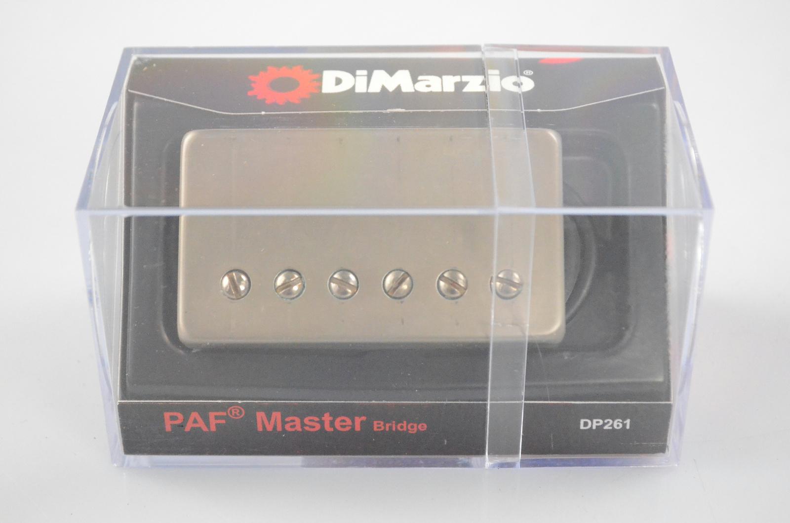 DiMarzio PAF Master Bridge DP261 Humbucker Guitar Pickup Worn Nickel 261 #32286