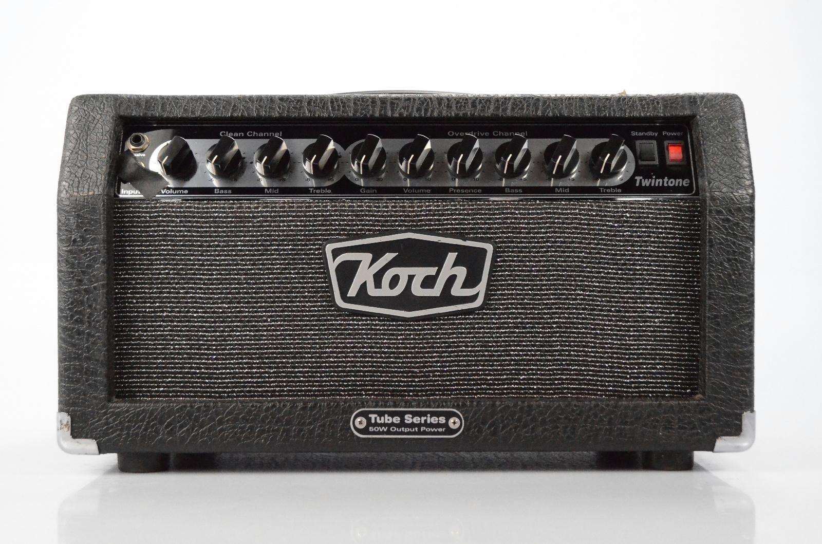 Koch Twintone MK1 Tube Amplifier Amp w/ Upgrades Owned by George Lynch #32472