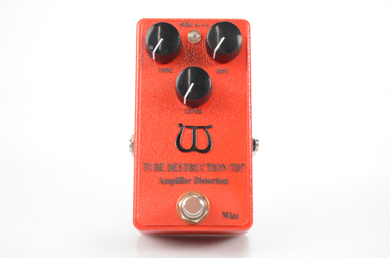 Wizz Tube Destruction TD7 Distortion Pedal w/ Box Owned by George Lynch #32453