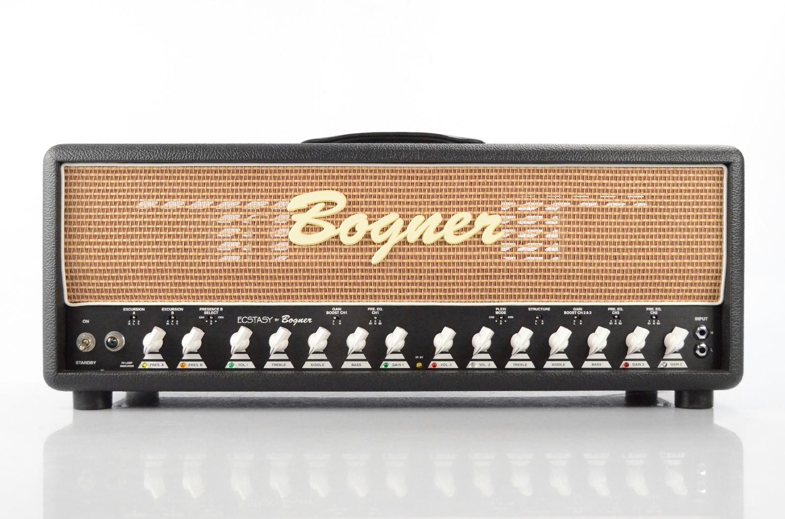 Bogner Ecstasy 100 Watt Tube Valve Guitar Amplifier Amp Head & Footswitch #32486