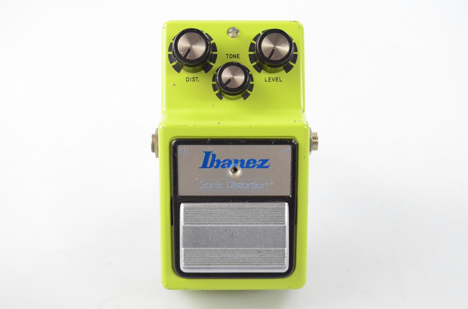 Vintage Ibanez SD-9 Sonic Distortion Guitar Pedal JRC4558D Maxon Japan #32580
