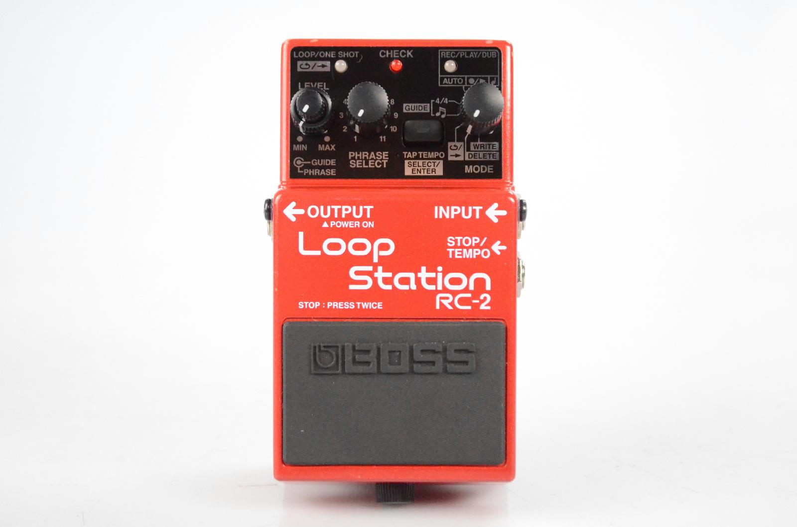 Boss RC-2 Loop Station Guitar Looper Effect Pedal w/ Manual RC2 #32579