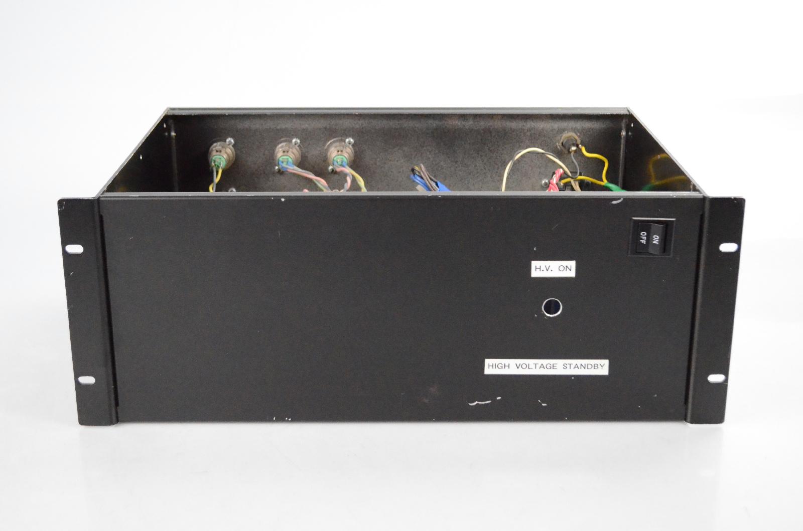 320V 247V & 12V High Voltage Power Amplifier Rack Amp for Parts or Repair #32545