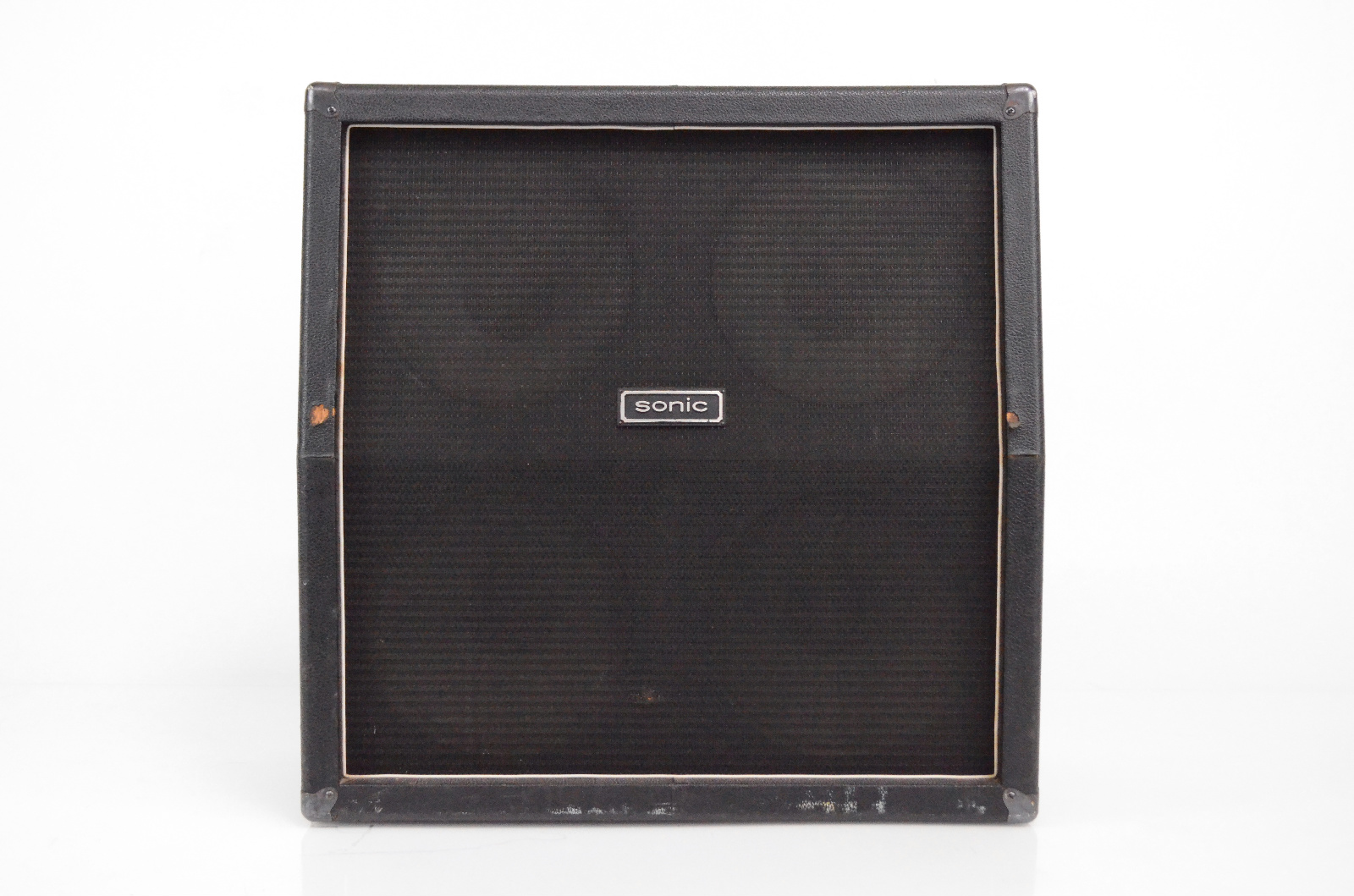 Sonic 4x12 16 Ohm Guitar Slant Speaker Cabinet w/ Cover Celestion G12-30 #32478