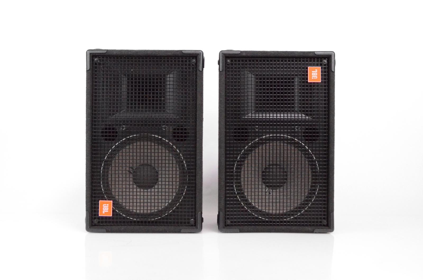 2 JBL SR4706A SR Series II Passive PA Loudspeaker Monitor Wedges SR 4706A #32541