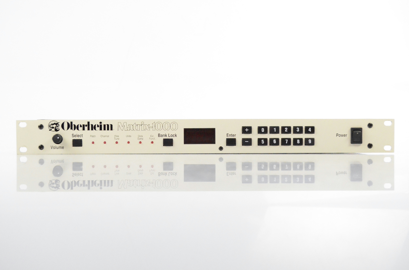 Oberheim Matrix-1000 Rack Synthesizer White Module Owned by Lyle Mays #32671