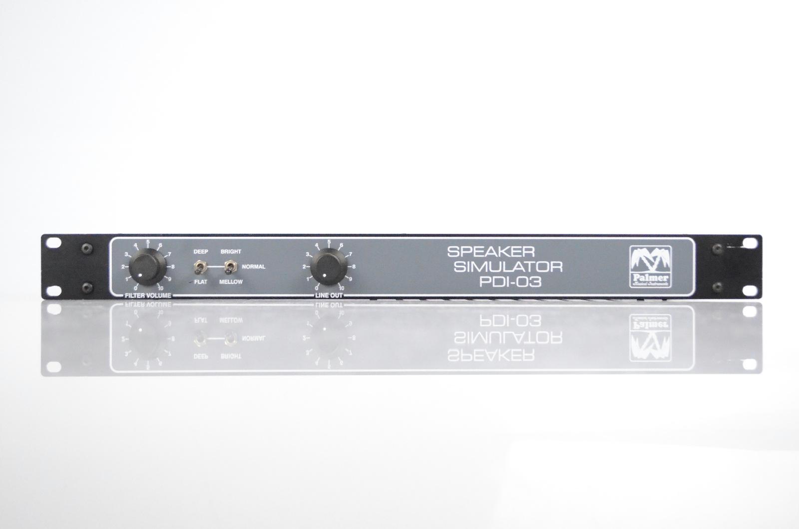 Palmer PDI-03 Speaker Simulator & 8 Ω Loadbox Owned by Warren Cuccurullo #32663