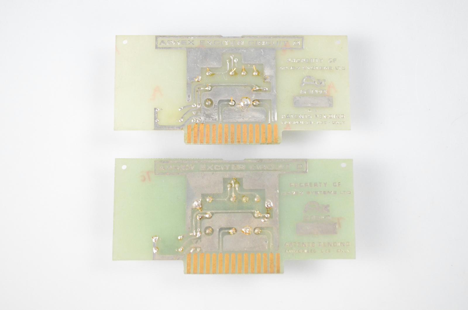 2 Aphex AX 610D Circuit D Boards for Vintage Aural Exciter 402 602 602B #32635