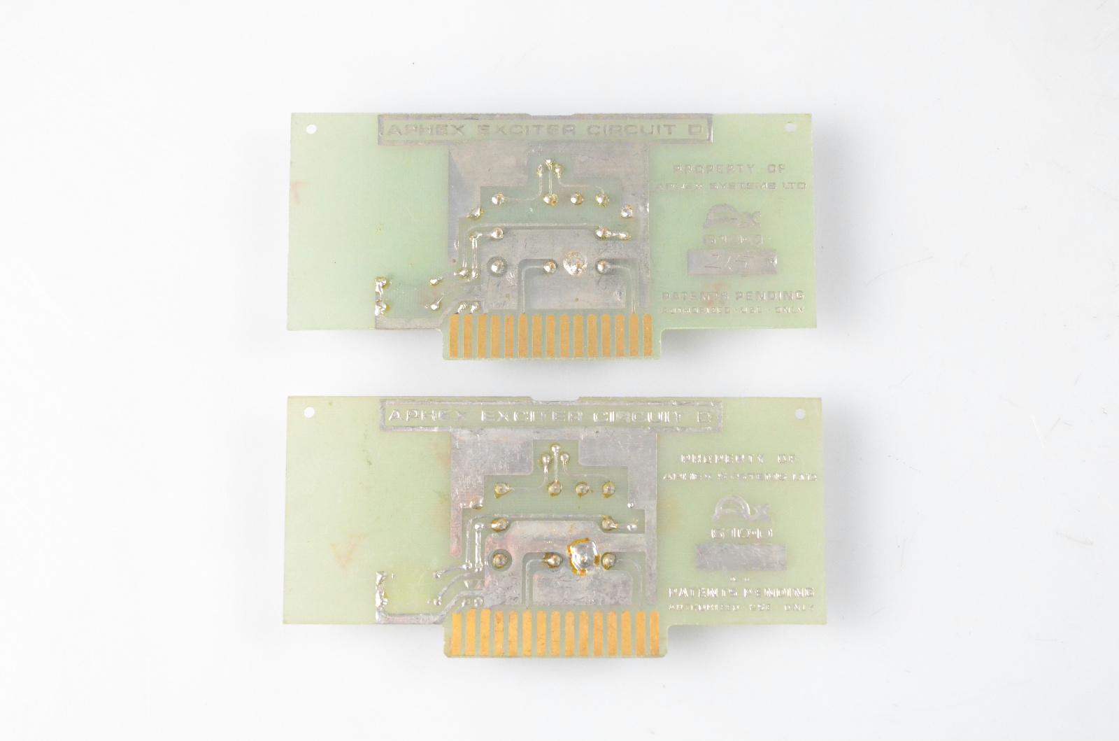 2 Aphex AX 610D Circuit D Boards for Vintage Aural Exciter 402 602 602B #32623