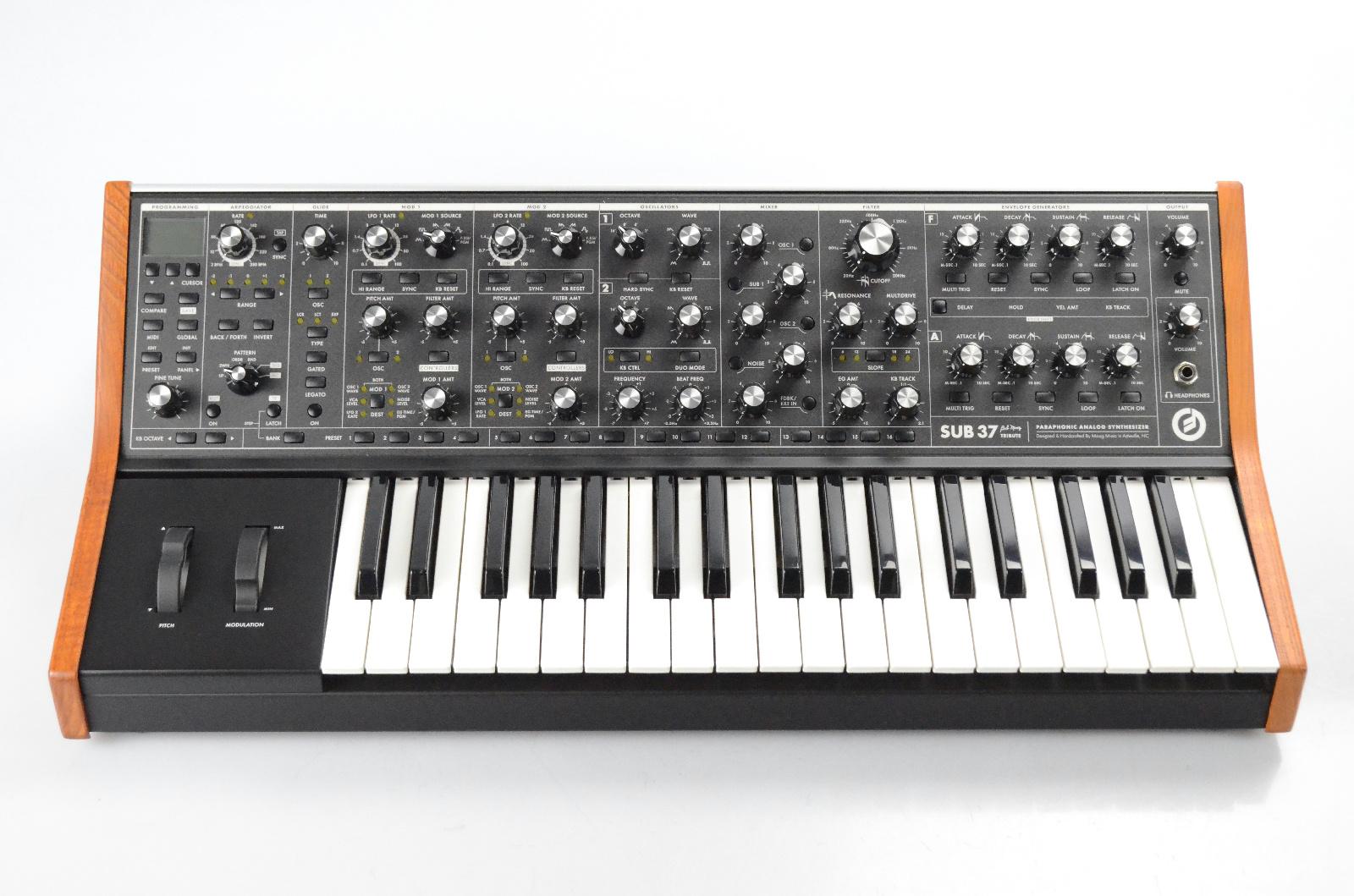 Moog Sub 37 Paraphonic Analog Synthesizer Owned by Justin Meldal-Johnsen #32828