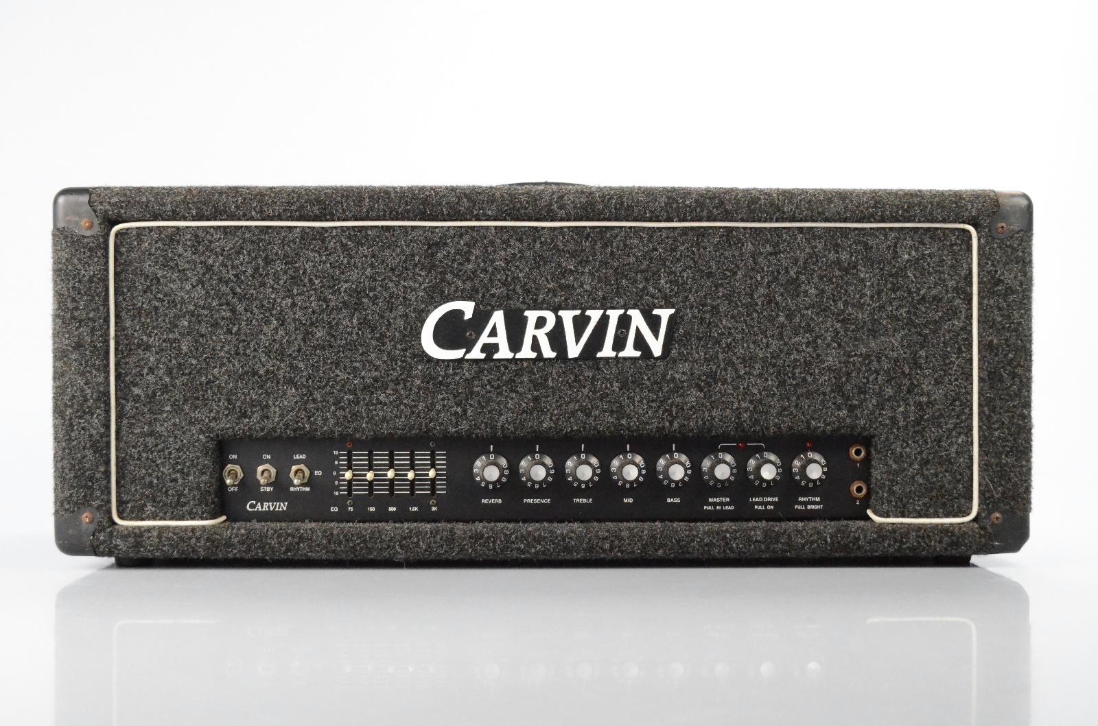Carvin X-100B Hot Rod Mod 100W Tube Guitar Amp Head w/ Foot Switch X100B #32689