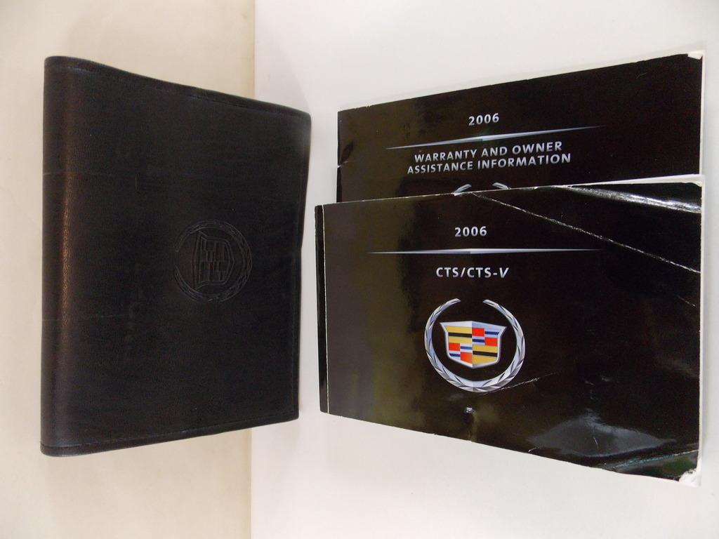 06 2006 Cadillac CTS CTS-V Owners Manual Book Guide # 8862