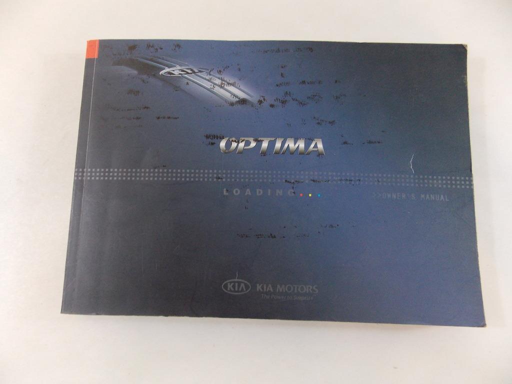 08 2008 kia optima owners manual book guide 8913 ebay rh ebay com 2002 Kia Optima Manual Online Kia Optima Manual PDF