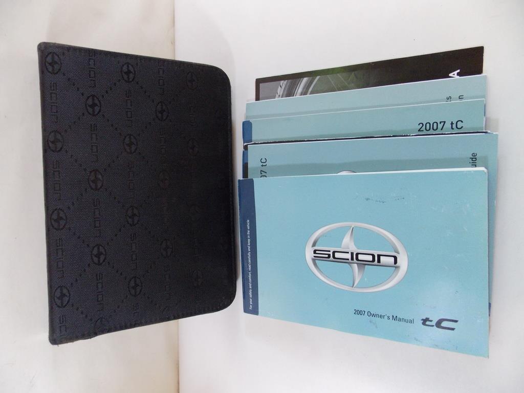 07 2007 scion tc owners manual book guide 8973 ebay rh ebay com 07 Scion tC MPG 2007 scion tc owners manual