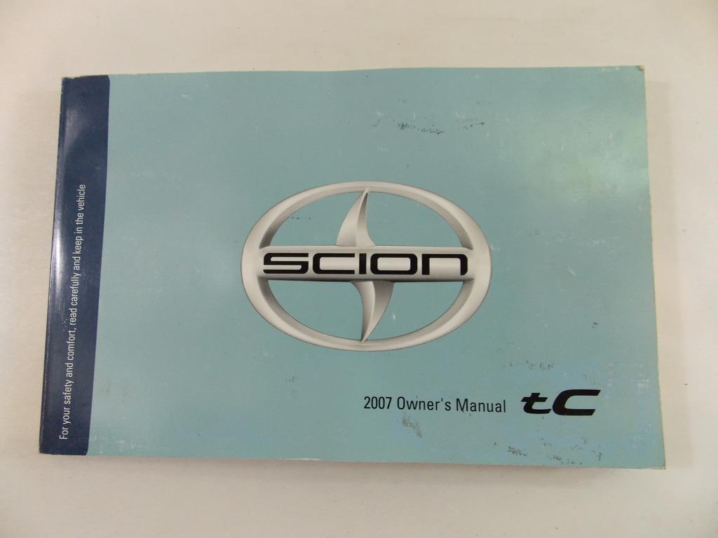 07 2007 scion tc owners manual book guide 8973 ebay rh ebay com 07 scion tc repair manual 07 Scion tC Interior