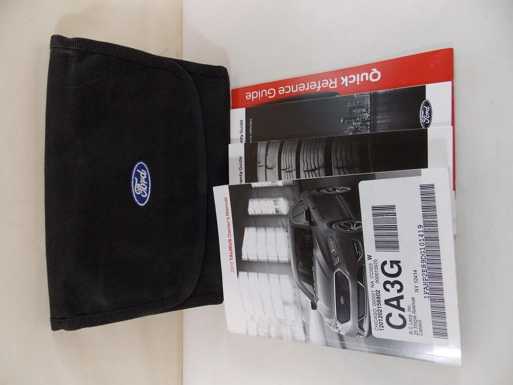 13 2013 ford taurus owners manual book guide 9005 ebay rh ebay ie ford taurus manual 2005 ford taurus manual transmission