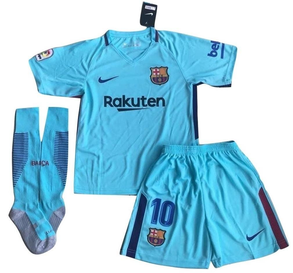 7fc4892a29a Nike - FC Barcelona Messi #10, 2017-2018 Youths Away Soccer Jersey ...
