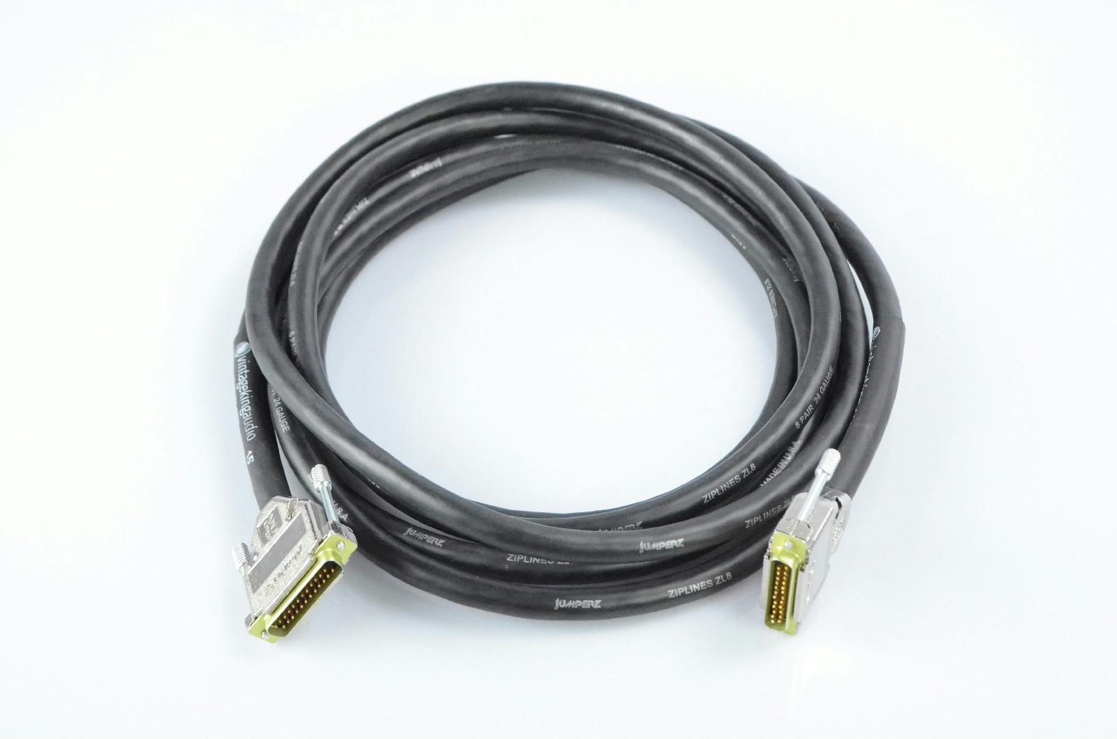 Vintage King 15' Jumperz Ziplines ZL8 DB25-DB25 8 Channel Snake Cable #32777