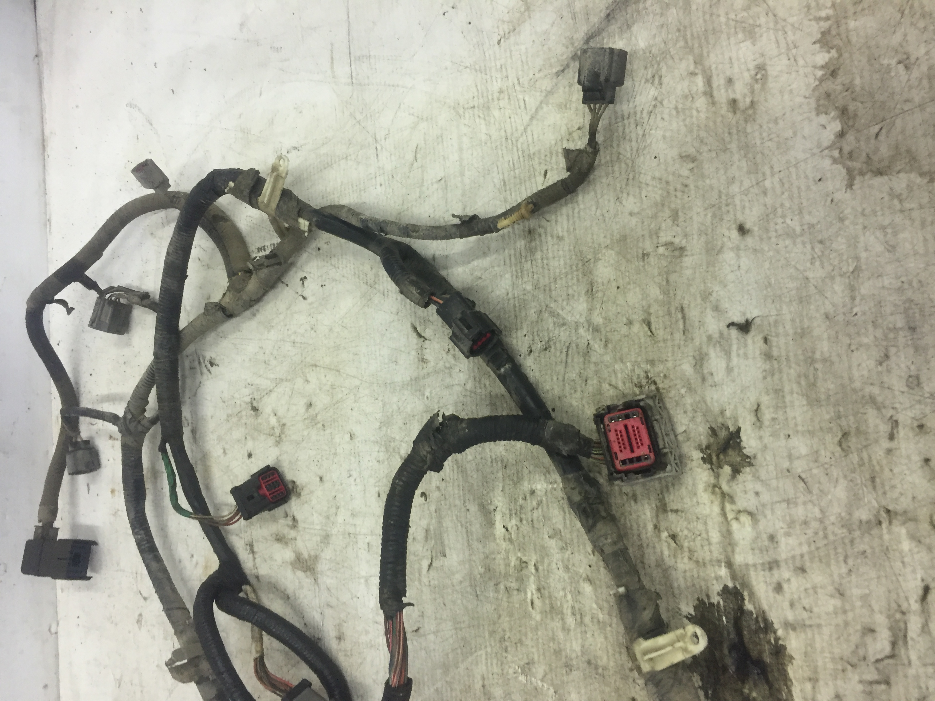 2004 Ford F350 Powerstroke 60 Transmission Wiring Harness As13349