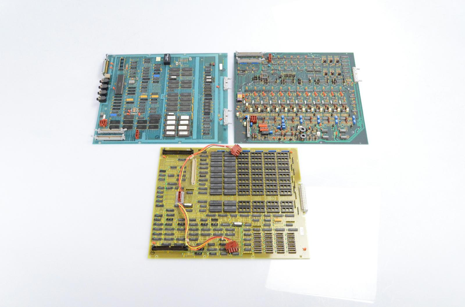 3 Kurzweil KMS 250 K250 Sync Cards Circut Board FLC2000V KMS-3300-1803 #32747