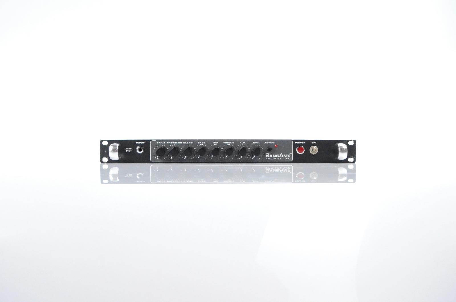 Tech21 SansAmp RBI Bass Guitar Interface Owned by Justin Meldal-Johnsen #32827