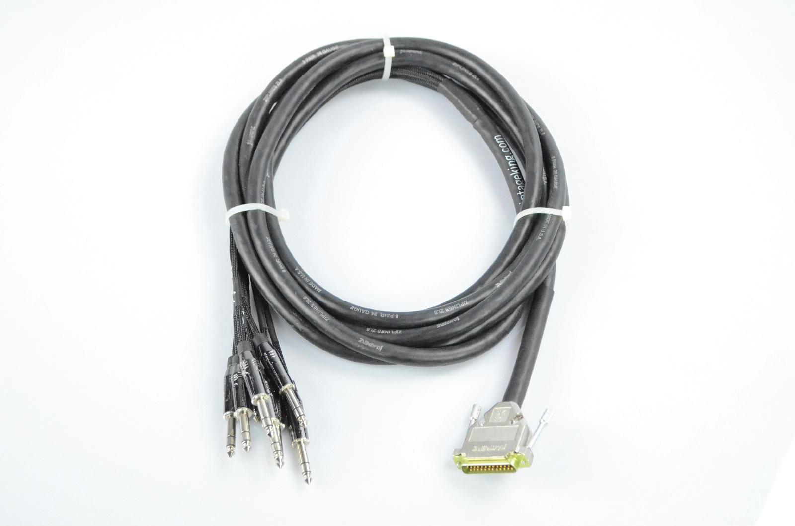 Vintage King 15' Jumperz Zipline ZL8 8-Channel DB25-TRS Snake Cable #32801
