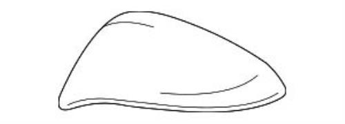 TOYOTA  RAV4 PASSENGER MIRROR COVER  87915-48040-A0  FITS 2015-2018 WHITE PEARL