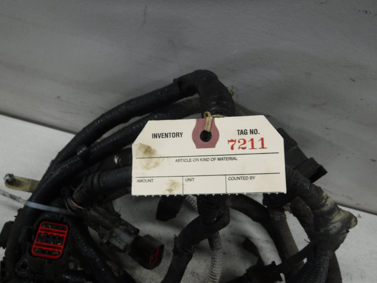 2005 2006 2007 Ford F350 F250 60 Diesel 5r110 Auto 4x4 Wiring Harness Shipping Information